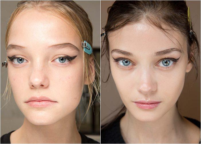 макияж prada весна-лето 2015