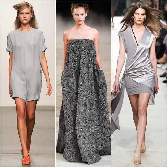 серые платья весна-лето 2015 (1)
