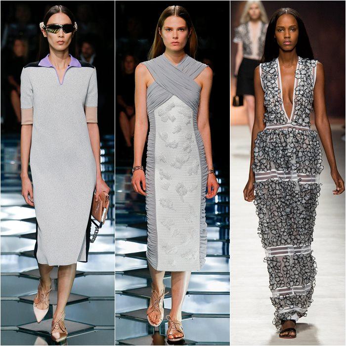 серые платья весна-лето 2015 (3)