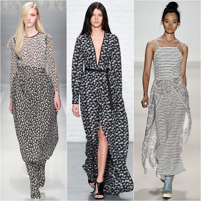 серые платья весна-лето 2015 (7)