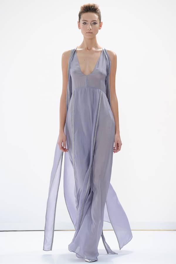 сиреневое платье весна-лето 2015 Daks