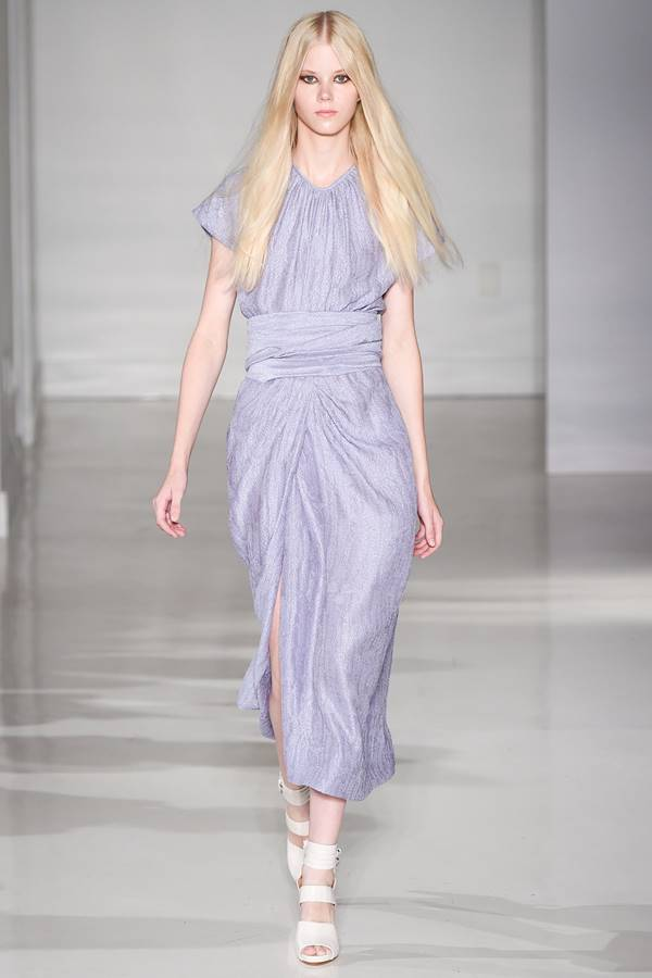 сиреневое платье весна-лето 2015 Jill Stuart