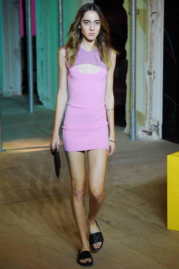 сиреневое платье весна-лето 2015 Zadig&Voltaire