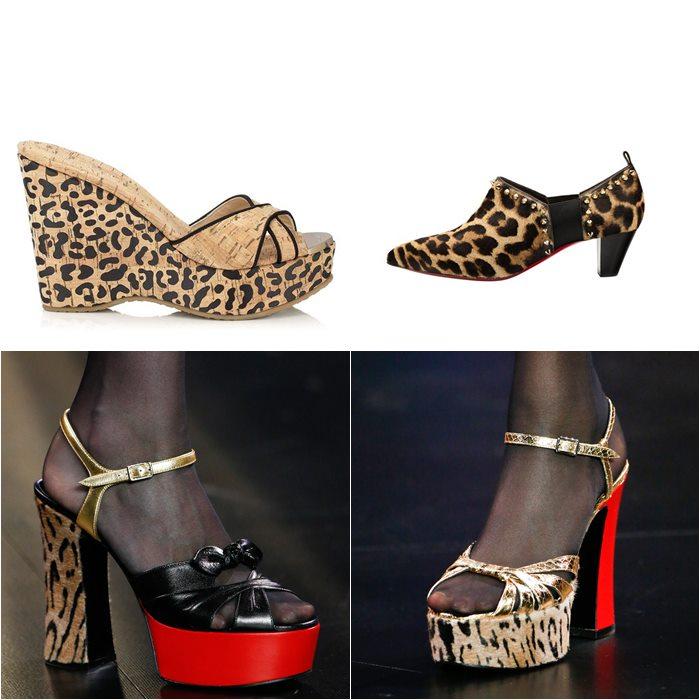 туфли с леопардовым принтом весна лето 2015