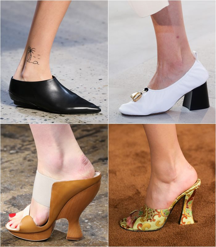 туфли в стиле средневековья весна лето 2015