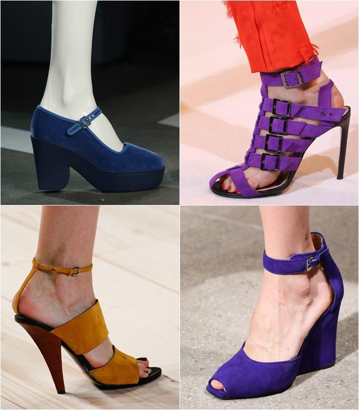 замшевые туфли весна лето 2015