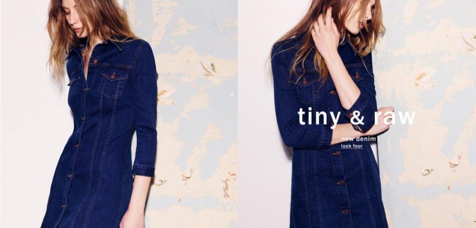 Деним 2015 в лукбуке Zara: джинсовые платья, юбки, рубашки
