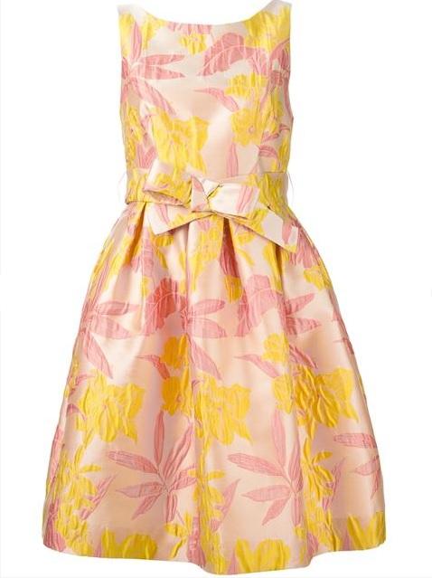 желтые платья на выпускной 2015 (19)