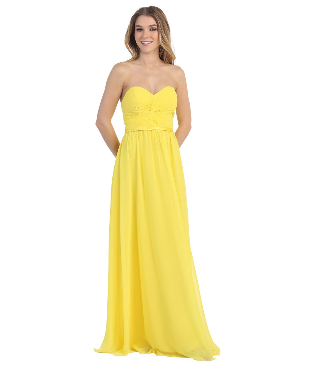 желтые платья на выпускной 2015 (2)