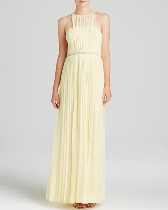 желтые платья на выпускной 2015 (3)