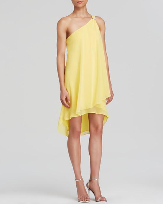 желтые платья на выпускной 2015 (4)