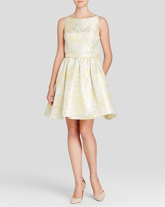 желтые платья на выпускной 2015 (5)