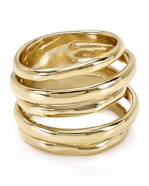 золотые кольца 2015 Alexis Bittar