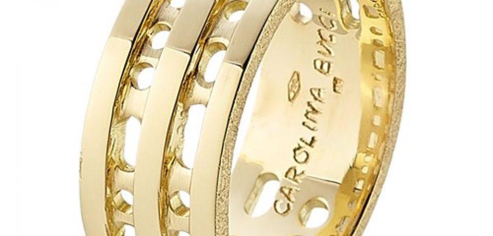 Модные золотые кольца 2015 (25 фото)