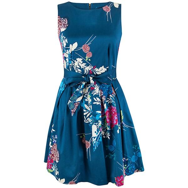 платье с цветочным принтом 2015 Closet