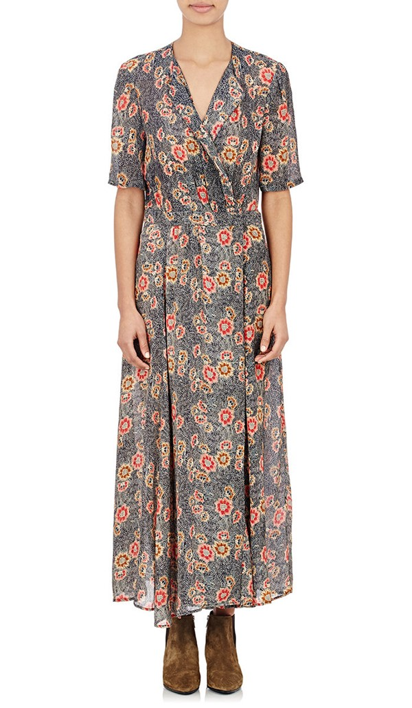 цветочное платье 2015 Isabel Marant