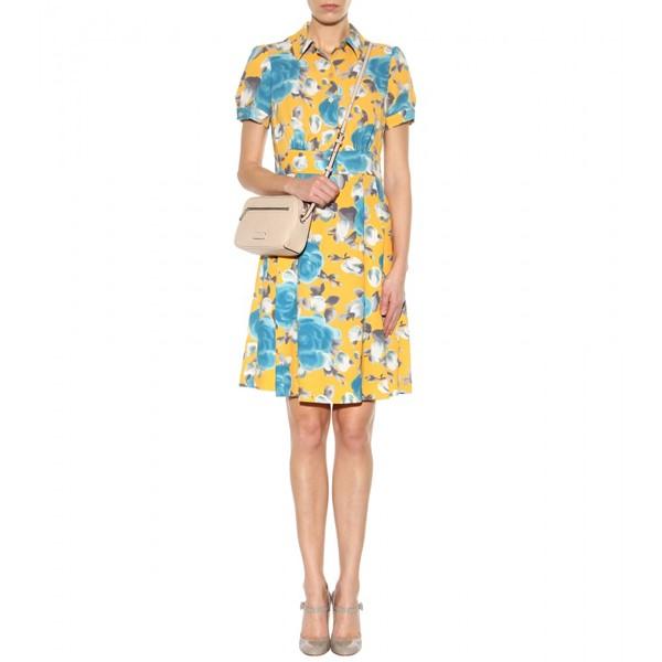 платье с цветочным принтом 2015 Marc by Marc Jacobs