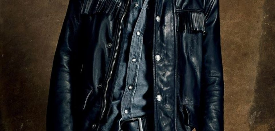 Мужские кожаные куртки весна-лето 2015 (фото новинок с подиума)