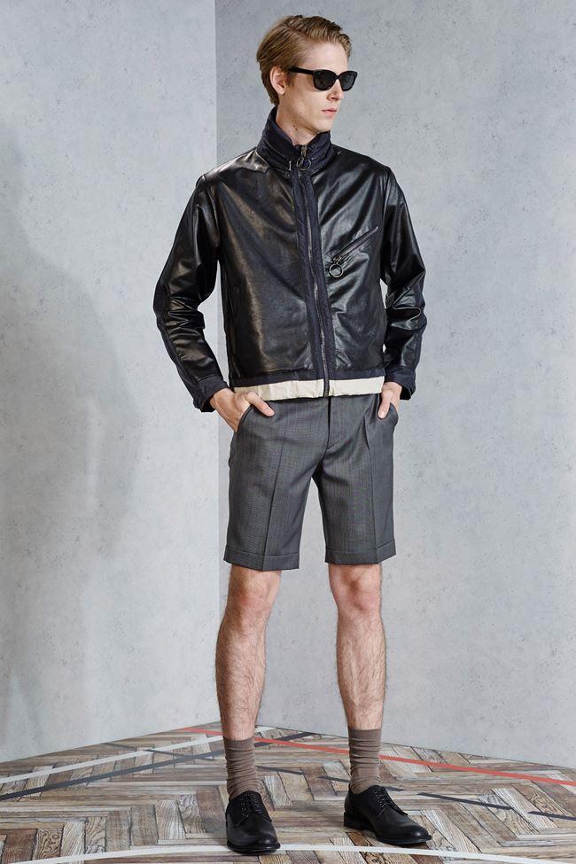 Viktor & Rolf мотоциклетная мужская куртка весна-лето 2015