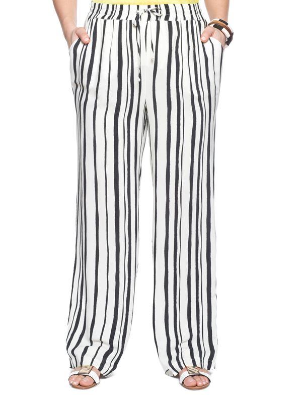модные брюки для полных женщин 2015 (10)