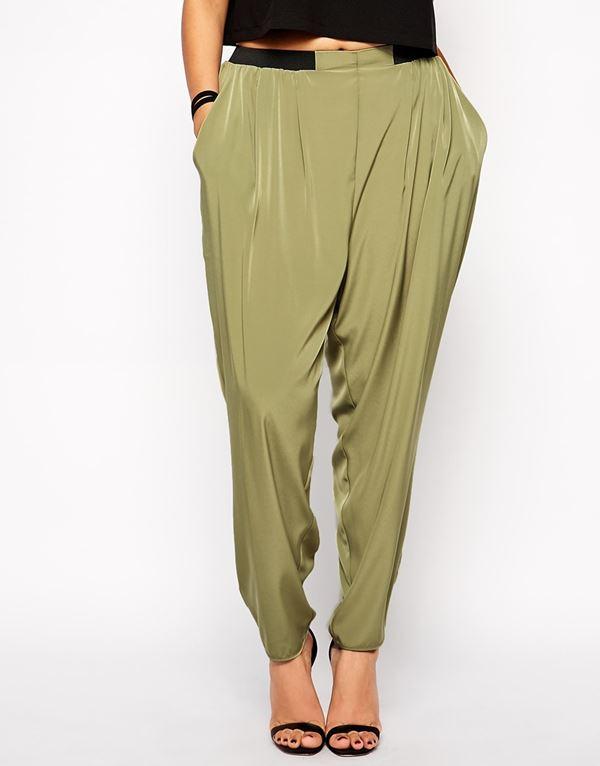 модные брюки для полных женщин 2015 (19)