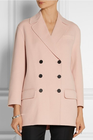 Joseph персиково-розовое  пальто-бушлат 2015