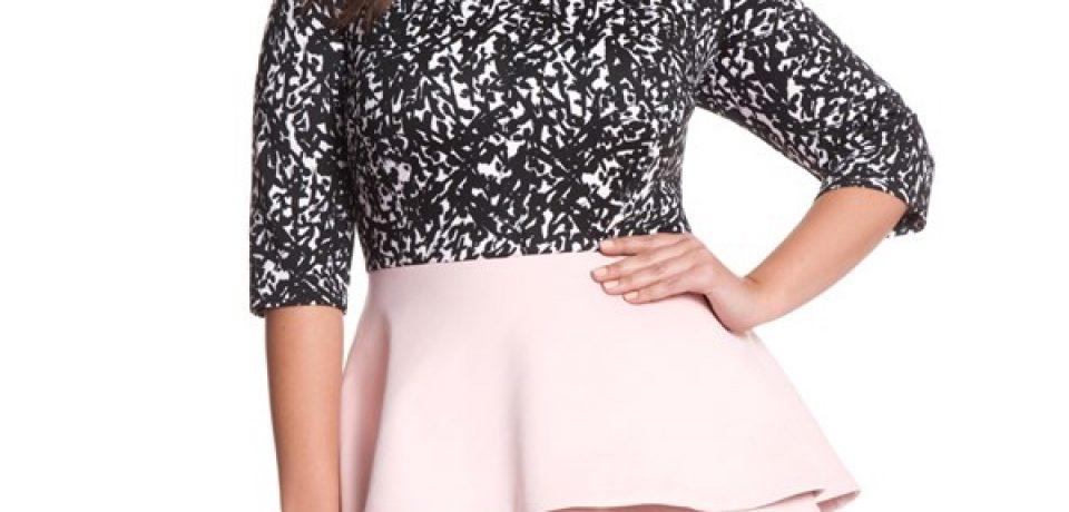 Короткие коктейльные платья для полных (25 фото новинок)