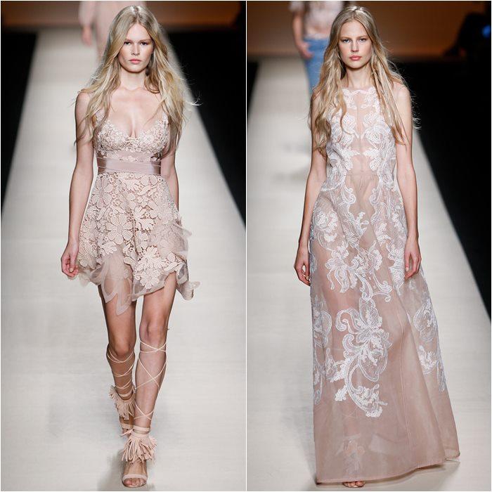 кружевные платья 2015 Alberta Ferretti