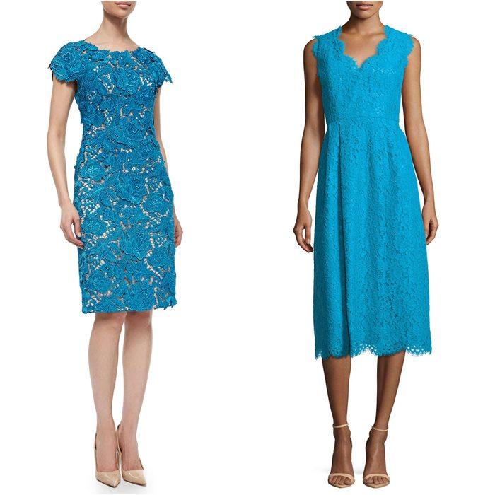 кружевные платья 2015 Lela Rose и Shoshanna