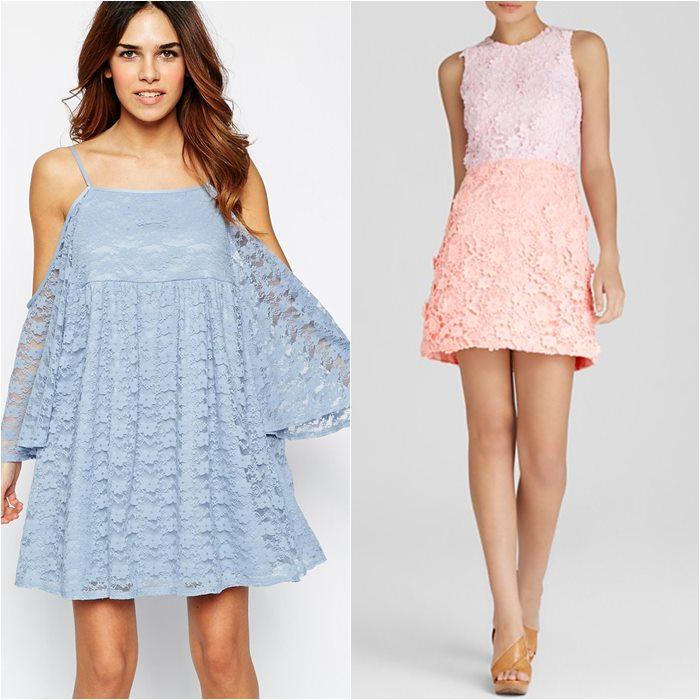 кружевные платья 2015 Asos и Cynthia Rowley