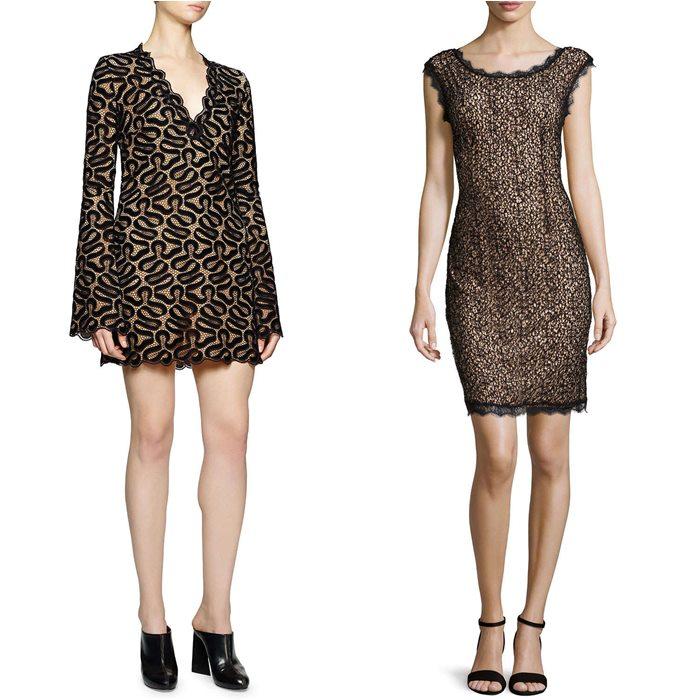 кружевные платья 2015 Stella McCartney и Halston Heritage