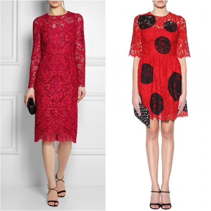 кружевные платья 2015 Dolce&Gabbana