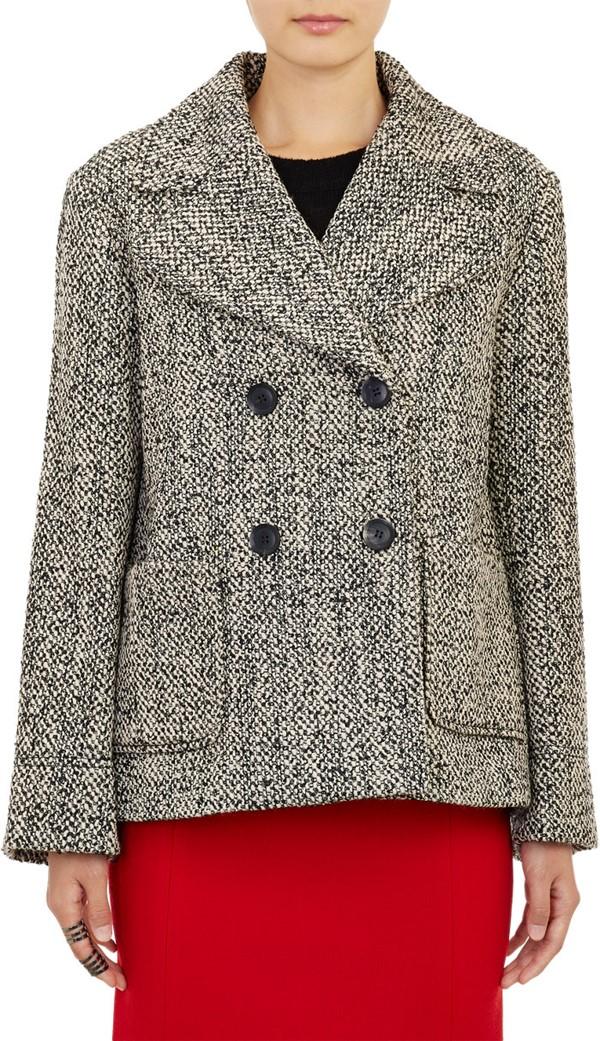 Marissa Webb пальто-бушлат с карманами 2015