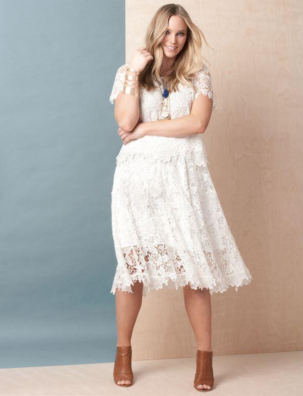 кружевное платье для полных женщин 2015