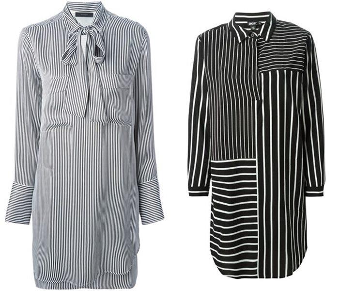 платья-рубашки 2015 Belstaff и DKNY