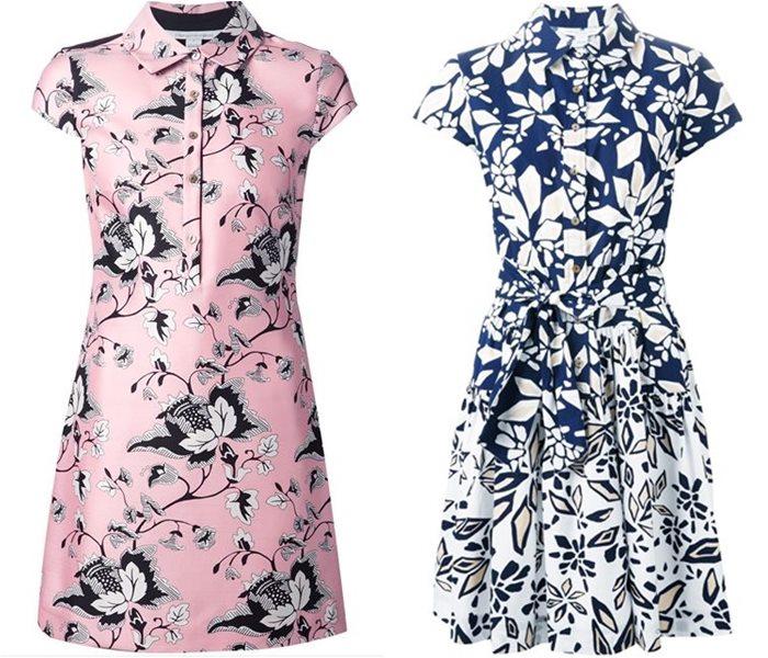 платья-рубашки 2015 Diane von Furstenberg