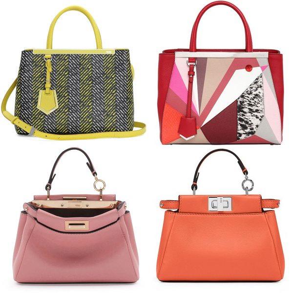 деловые сумки fendi весна лето 2015
