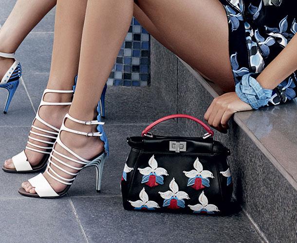 сумки и обувь fendi рекламная кампания весна лето 2015 (2)