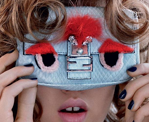 сумки и обувь fendi рекламная кампания весна лето 2015 (8)