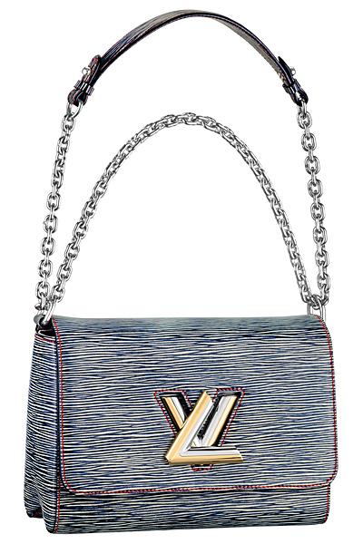 джинсовая сумка louis vuitton twist bag весна лето 2015