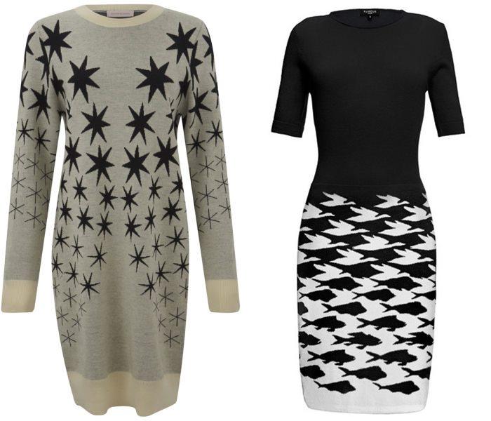 трикотажные платья 2015  (10)