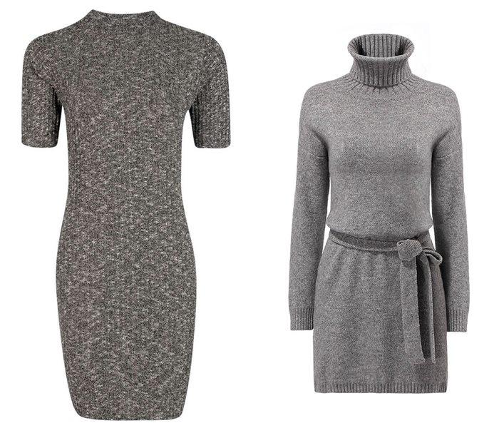 трикотажные платья 2015  (12)