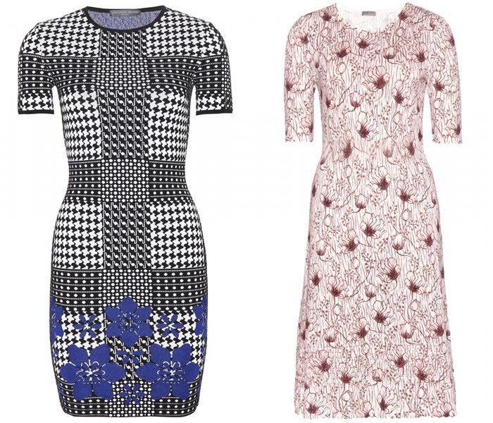 трикотажные платья 2015  (4)