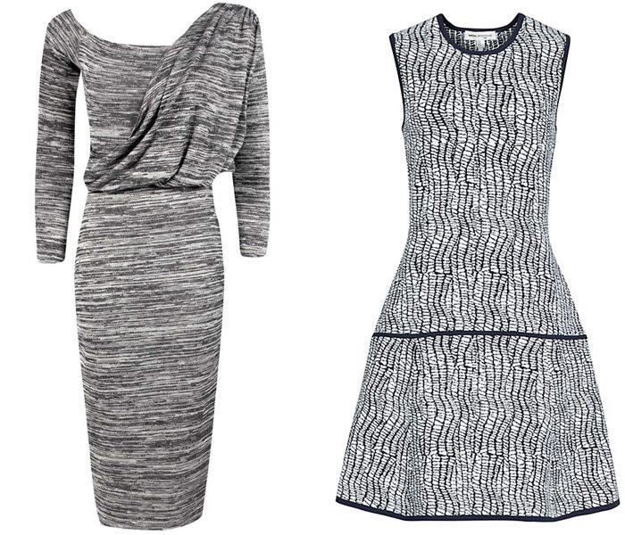 трикотажные платья 2015  (8)