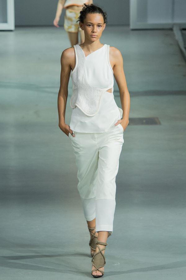 3.1 Phillip Lim укороченные брюки весна-лето 2015