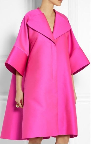 пальто oversize Antonio Berardi