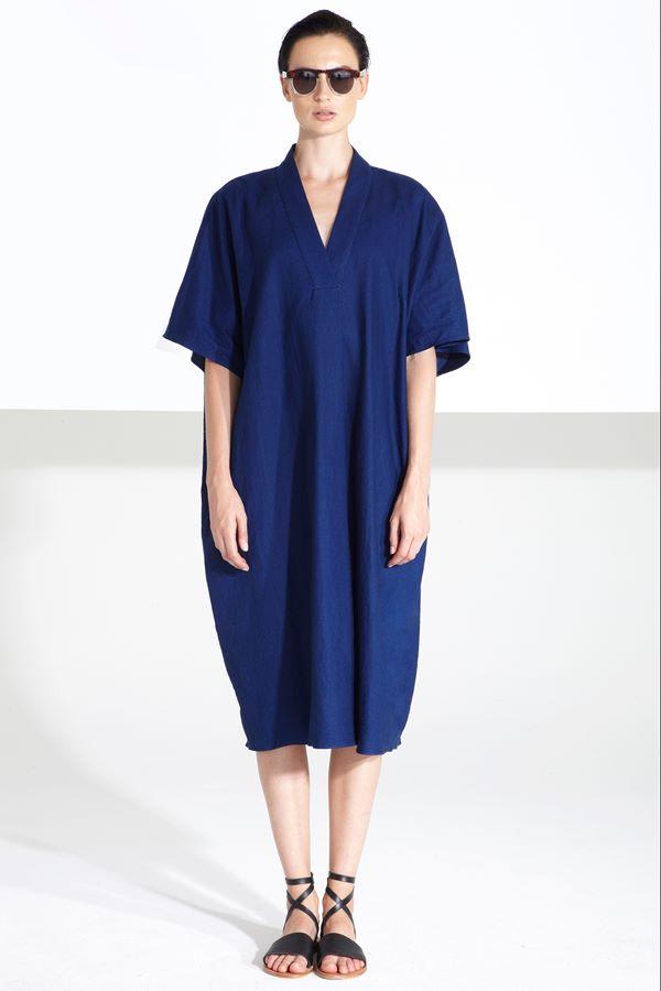 Синие платья весна-лето 2015 Apiece Apart