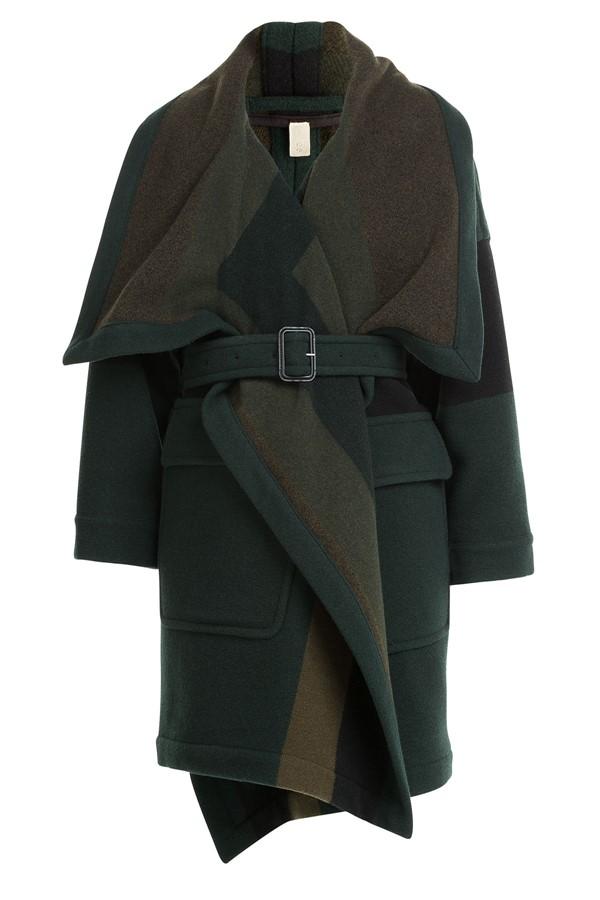пальто oversize Burberry Brit