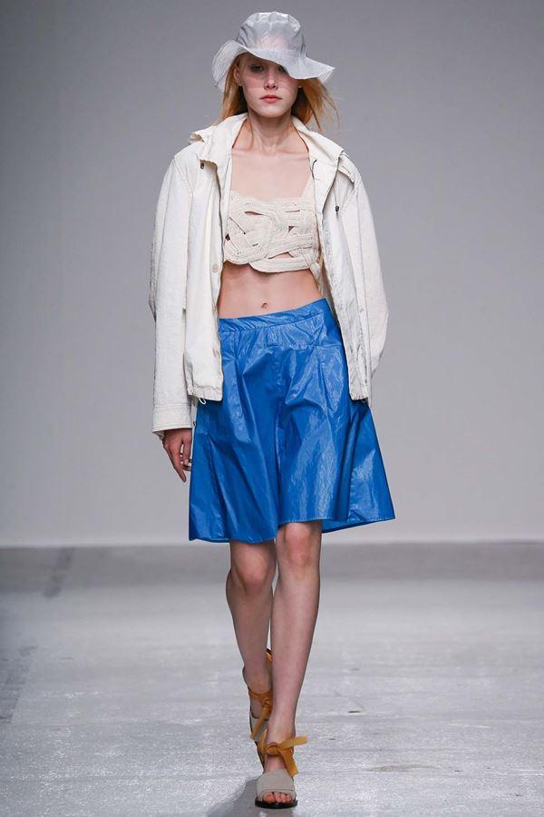 Модные бриджи весна-лето 2015 Christian Wijnants