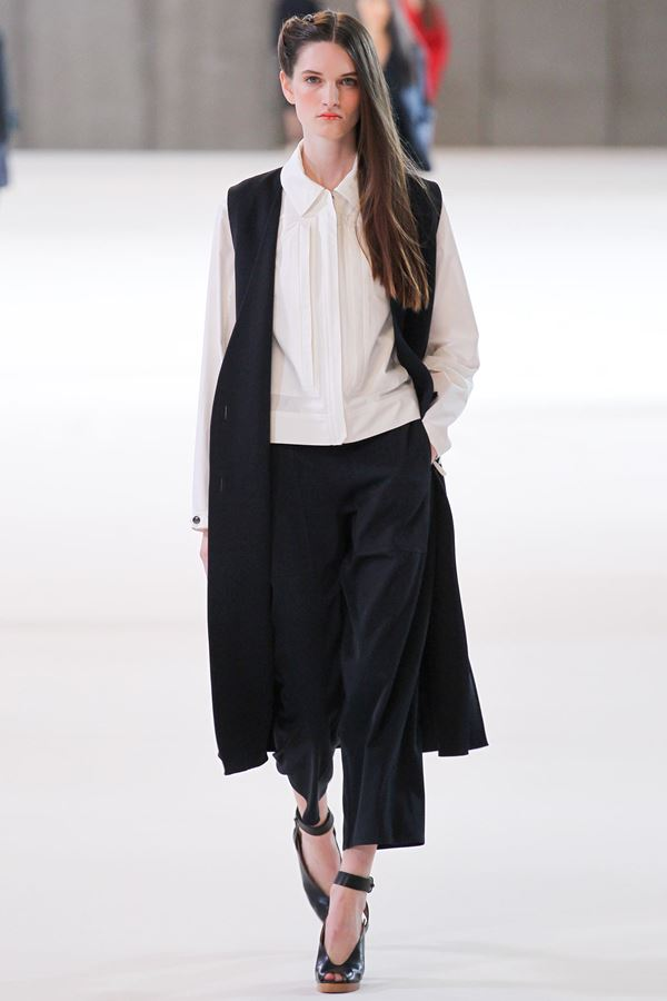Christophe Lemaire модные жилеты весна-лето 2015